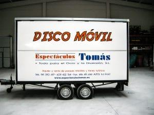 disco móvil - espectaculostomas.es